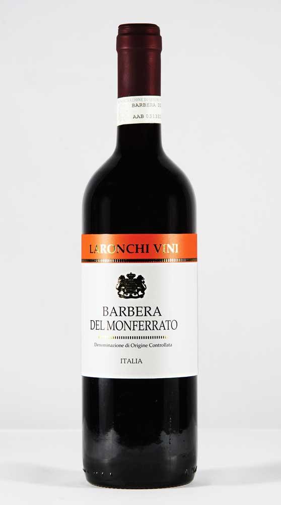 Laronchi vini, BARBERA DEL MONFERRATO Denominazione di Origine Controllata